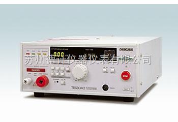 菊水耐压测试仪TOS8040