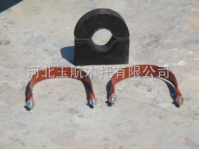 木管托 侵沥青油防腐木管托