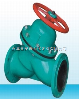 G45J-6直流式襯膠隔膜閥