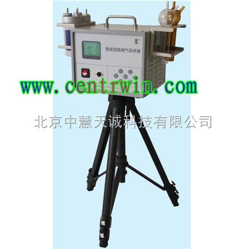 智能双路烟气采样器 型号:ZH4102