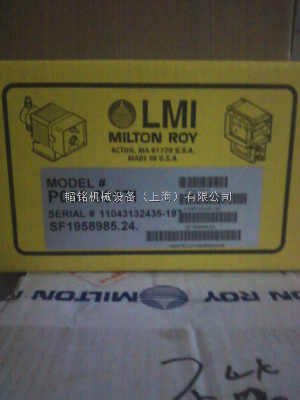 P056-398T米顿罗阻垢剂计量泵