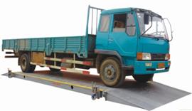 SCS30吨移动式汽车衡