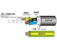 EXT-TVV(STD5)LF非铅耐热耐油柔软性移动用电缆