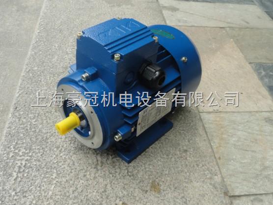 本公司制造的电机采用接线盒与机体一体压铸,并在外壳