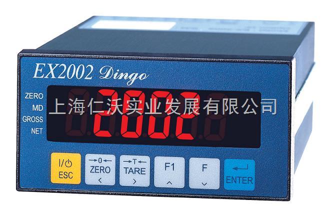 英展EX-2002DINGO称重控制器,RS232电脑串口通信仪表