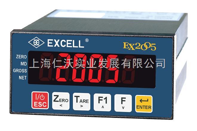 英展EX2005称重仪表价格,EXCELL开关量信号电子称