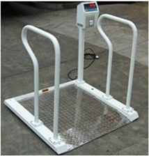 XK3101500公斤医院用不锈钢轮椅秤