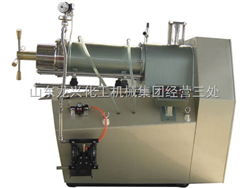 BKS20L棒钉可调卧式砂磨机、龙兴卧式砂磨机