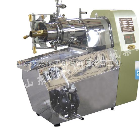 棒式卧式纳米砂磨机、不锈钢纳米砂磨机