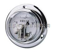 YTXC-150耐震磁助电接点压力表