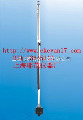 水银柱高度测表示大气压力的原理制造的