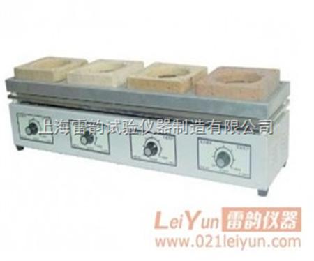 dll-4四联万用电炉 ,小型电炉,实验室电炉