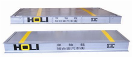 SCS1,3,5吨特殊性制作地磅秤
