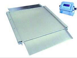 SCS1.2*1.5米不銹鋼超低臺面地磅秤