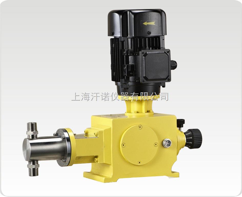 柱塞泵计量泵-上海汗诺仪器有限公司