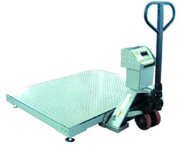 SCS1.5*1.5米叉車移動式地磅秤