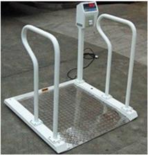 XK3101200kg医院用不锈钢轮椅秤