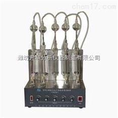 石油产品硫含量测定仪(燃灯法)(三组,五组,七组)特价销售