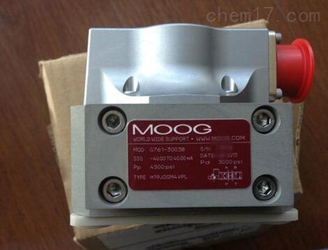 美国MOOG穆格伺服阀100%正品