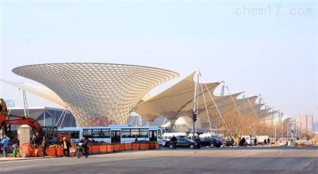 【机场膜结构长廊设计】机场膜结构通道雨棚定制