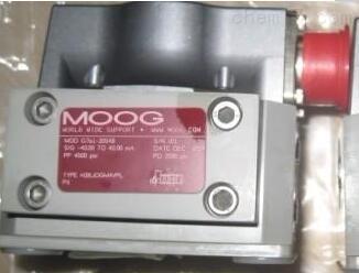 德国MOOG穆格伺服阀技术参数及型号