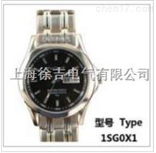 低价销售手表式近电报警器 全钢双历男表 1MG8W3
