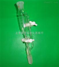 上海曼贤实验仪器玻璃仪器厚壁双四氟节门刻度恒压滴液漏斗
