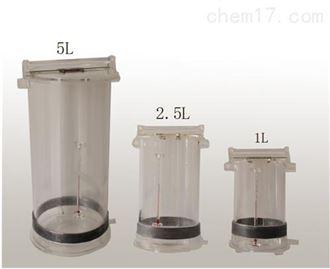 LB-800深水30米采样器带温度表LB-800有机玻璃采水器生产厂家