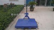 2m*2m優質手推式地磅秤批發采購 2米×2米移動式平臺秤廠家價格