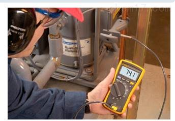 fluke116c数字万用表测量电流