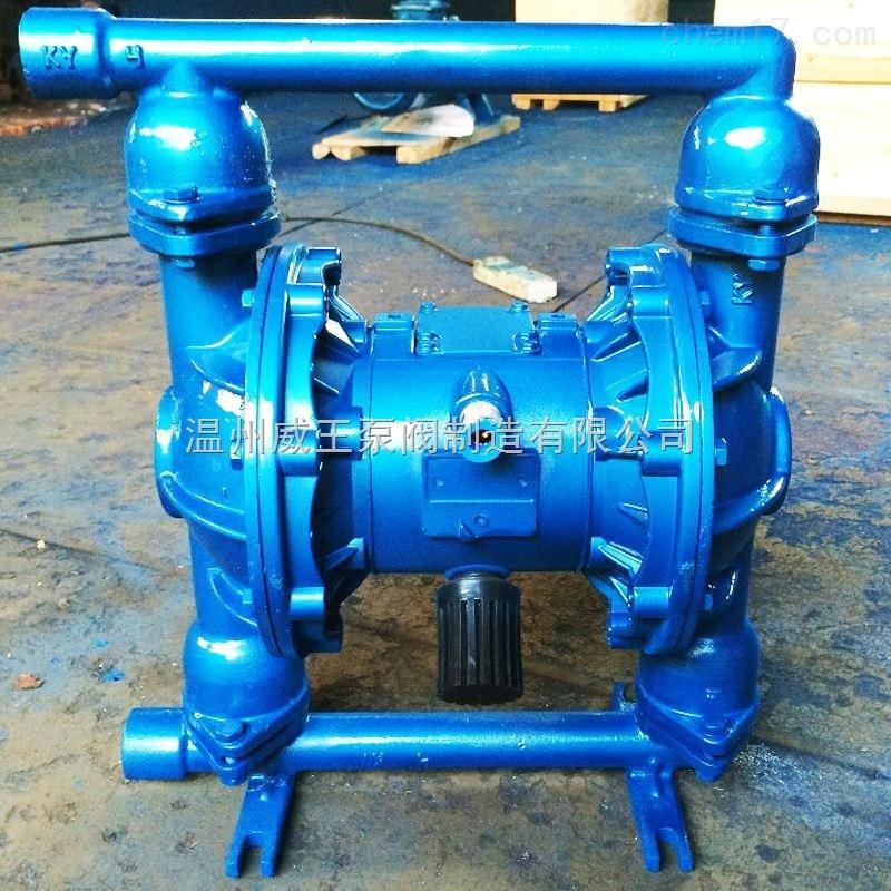 不锈钢隔膜泵 铝合金隔膜泵 塑料气动隔膜泵 QBY隔膜泵