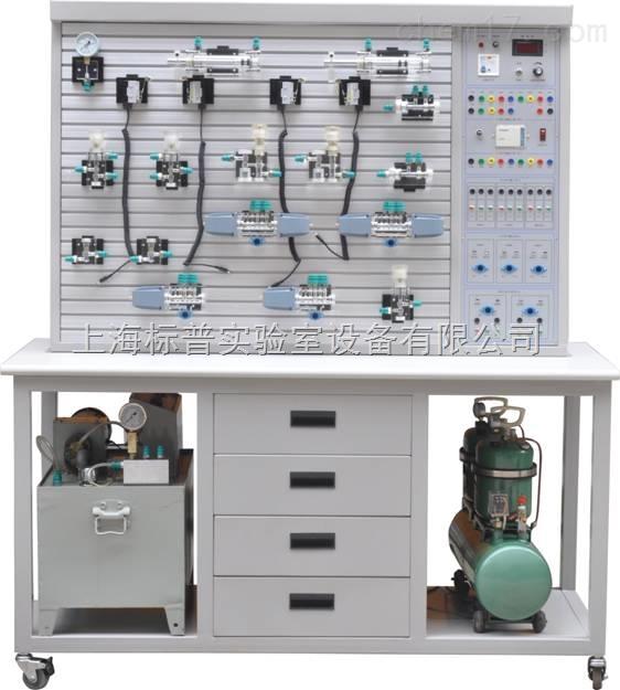 透明液压与气动PLC综合控制实训装置|液压与气动实训装备