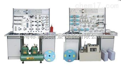 插孔式木桌液压PLC控制实验台|液压与气动实训装备