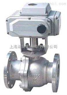 上海湖泉铸钢电动球阀Q941H