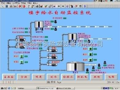 楼宇给排水监控系统实验实训装置|智能楼宇实训设备