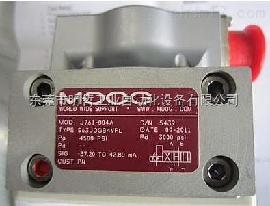 美国穆格MOOGG631系列伺服阀