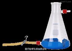 中国台湾洛科 1000ml 抽滤瓶 玻璃抽滤瓶 上嘴瓶