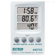 美国Extech 445702型温湿度计时钟