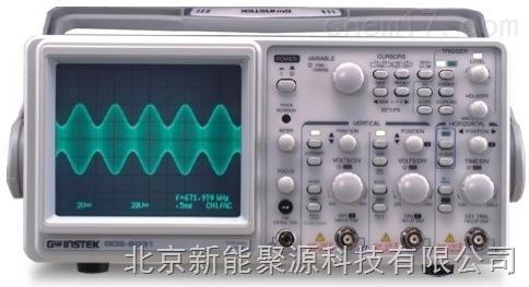 聚源GOS-6000係列遊標直讀示波器