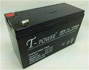 T-POWER蓄电池NP38-12铅酸免维护12V38AH/储能用蓄电池