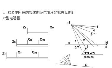 rt型电阻器主要用于起重机配