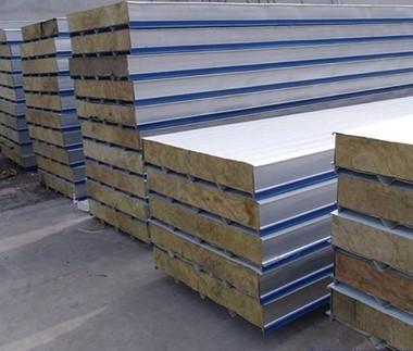 驻马店A一级防火竖丝 立丝 岩棉夹芯复合板价格,竖丝岩棉板厂家
