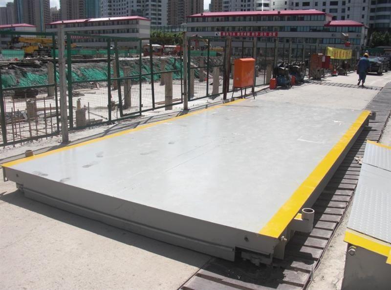 3*7米地磅整体及布局的合理结构确保了衡器的安装使用精度及精度的