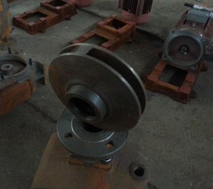 单吸式离心泵叶轮图片