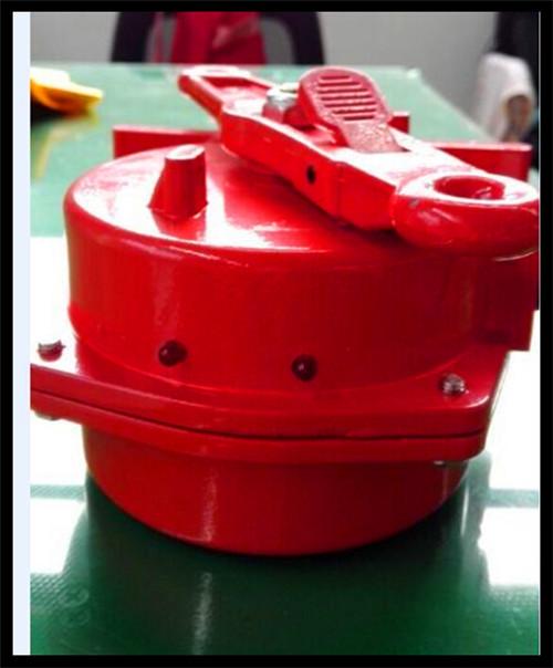 公司生产开发出一种产品红色指示灯急停拉绳开关,这种产品好处是,当