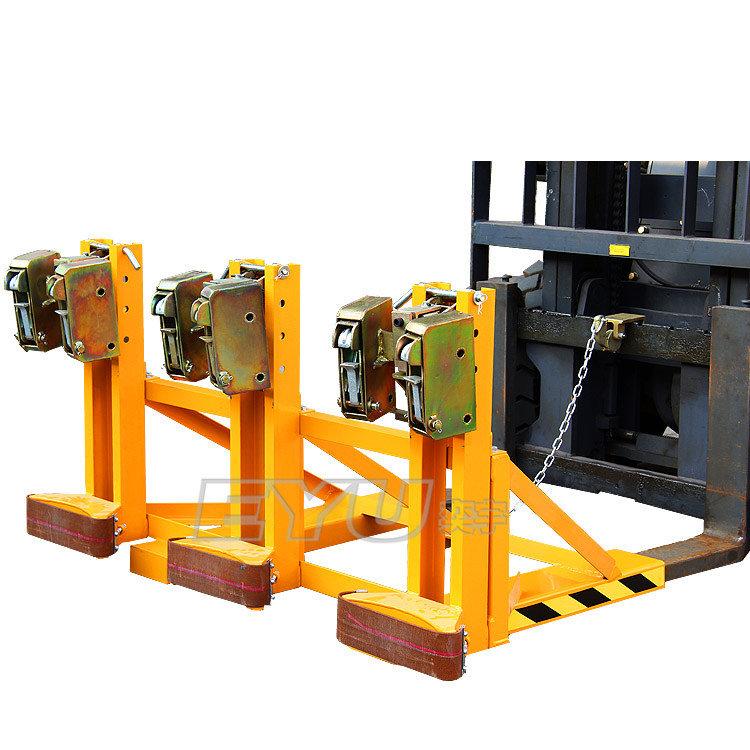 三油桶搬运夹_化工机械设备