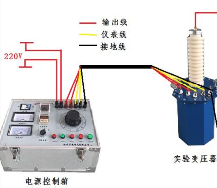 10千伏耐压测试仪接线方法
