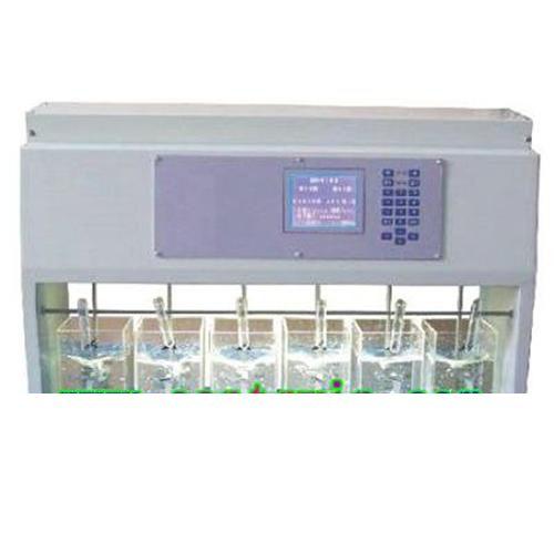 六联搅拌器一体化台式结构,整体结构紧凑