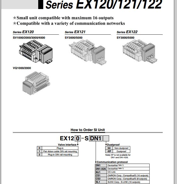 smc电磁阀,ex120-smj1新品促销图片