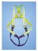 上海牌 (高可视性三挂点)全身式安全带【产品编号】60410